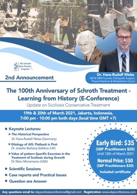 2021年3月 「シュロス法 100周年記念オンライン国際会議」に出席しました。